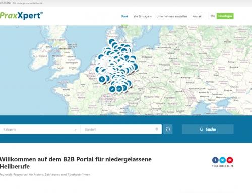 1.000 Experten bundesweit im B2B-Portal für Heilberufe